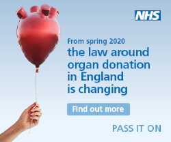 Organ Donation Laws are changing